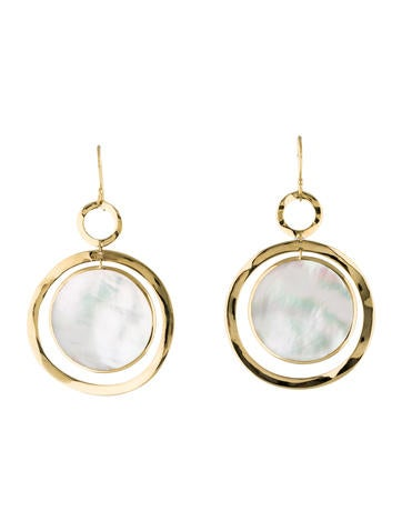 Ippolita 18K Mother of Pearl Drop Earrings