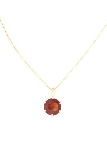 Ippolita 18K Hessonite Garnet Rock Candy Pendant Necklace
