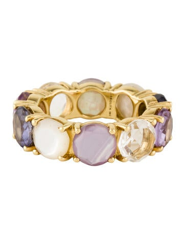 ippolita multi gem eternity band rings ipp26097 the