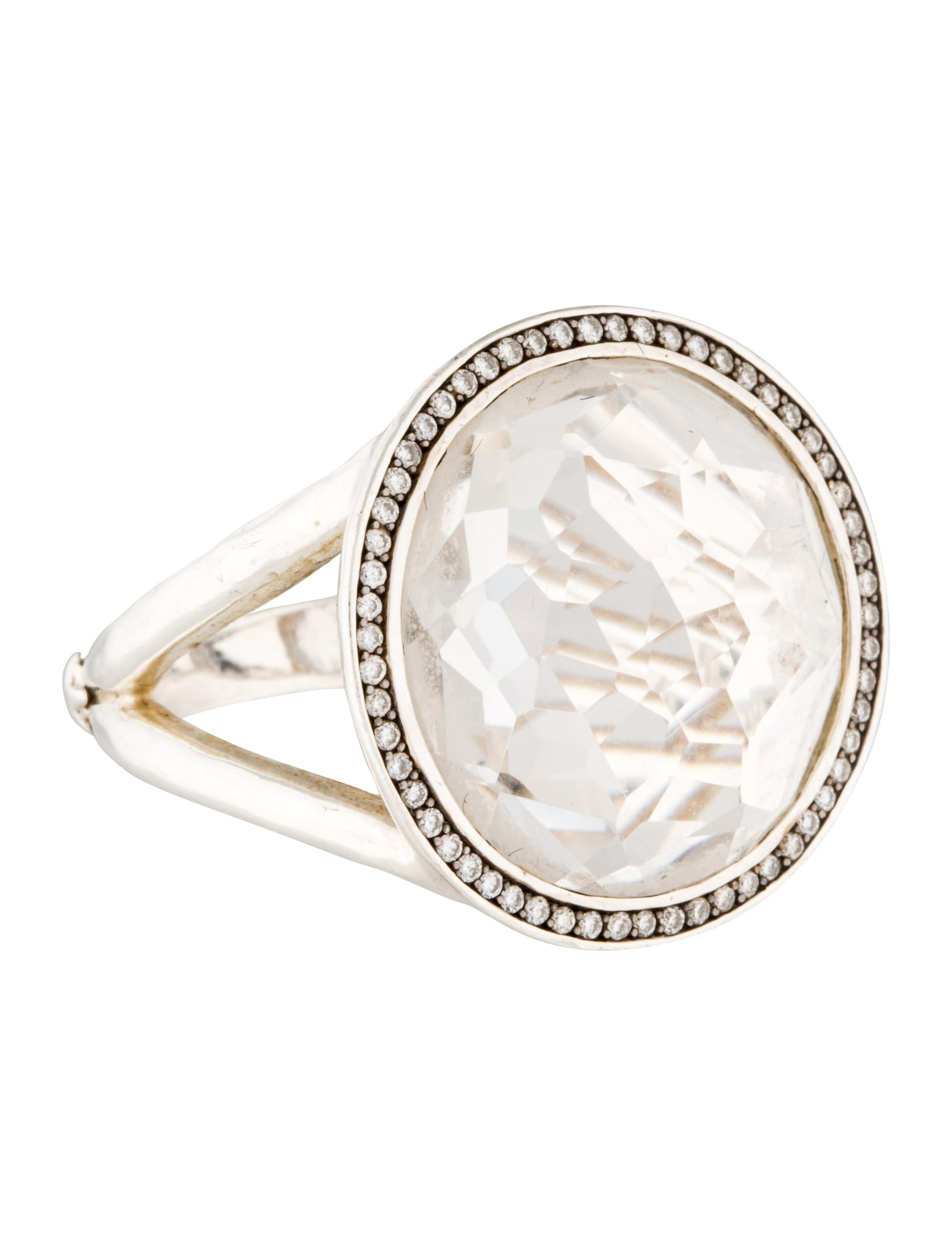 Ippolita Quartz Amp Diamond Stella Lollipop Ring Rings