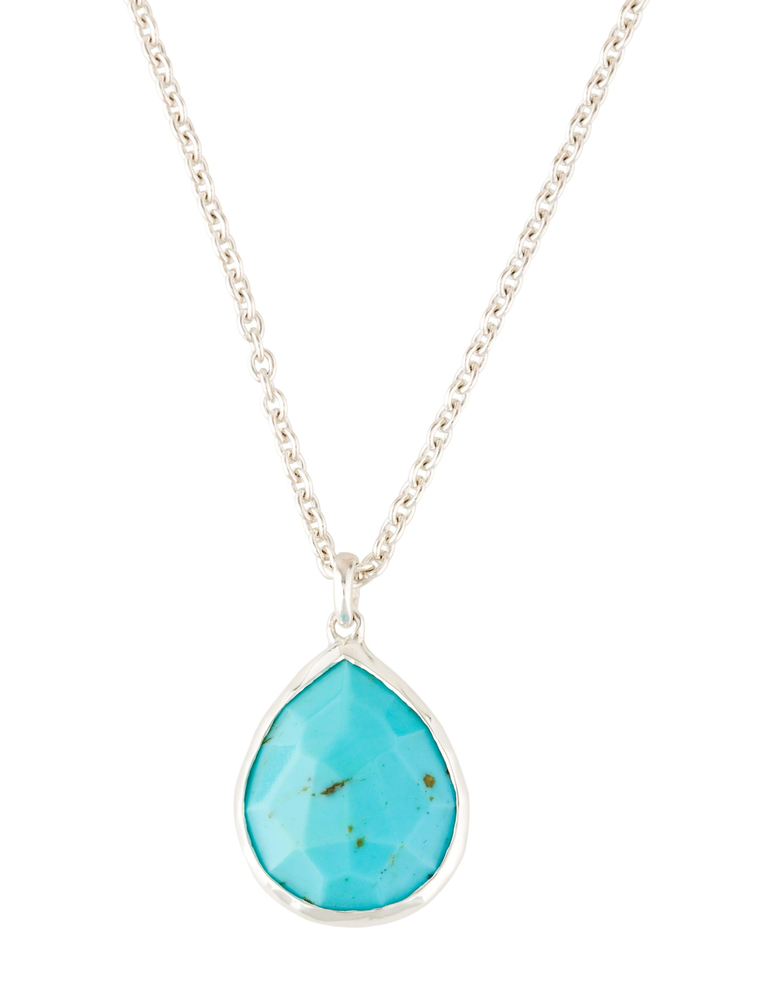 ippolita turquoise medium teardrop necklace necklaces