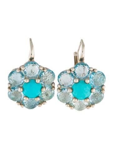 Ippolita Rock Candy Flower Drop Earrings None