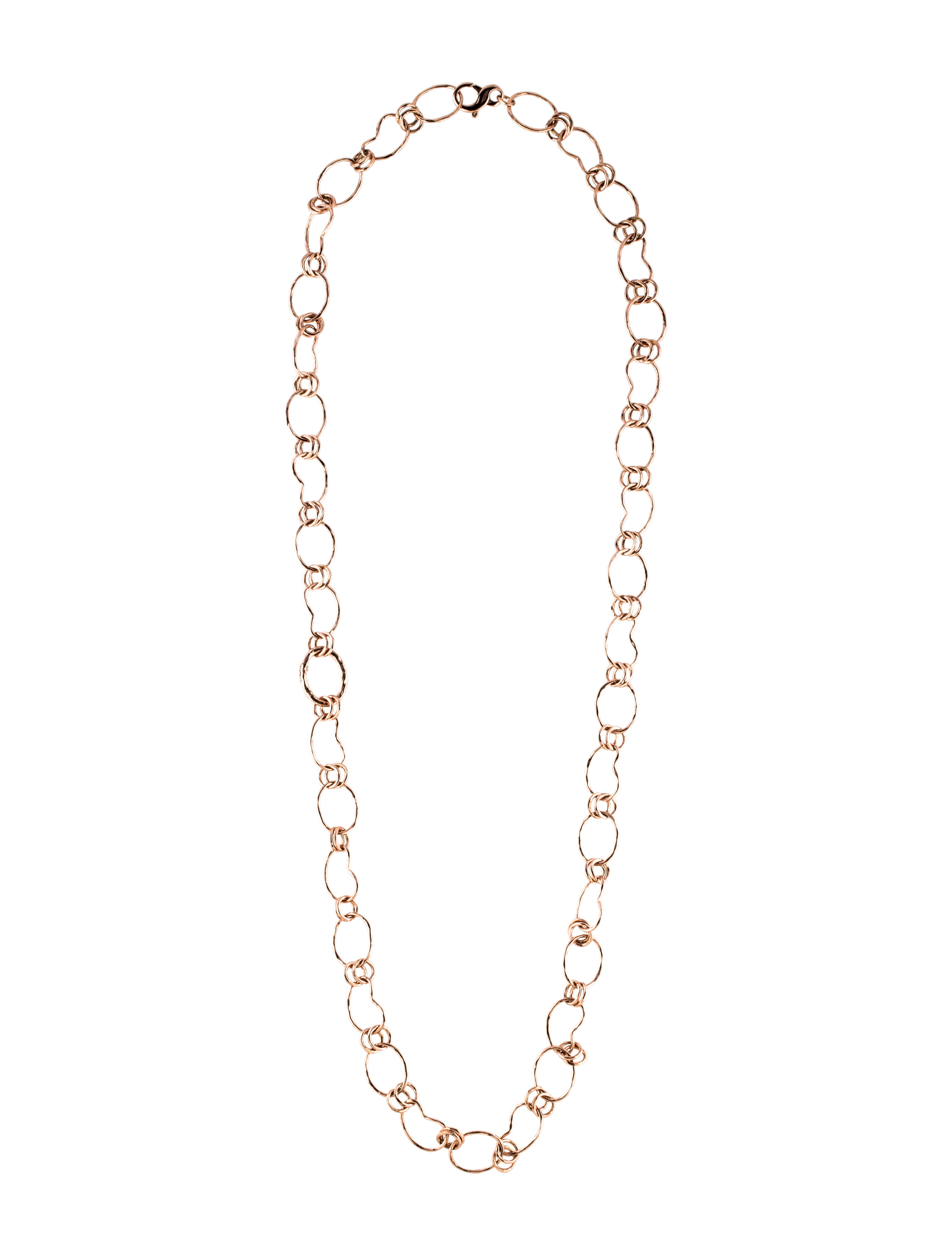 Ippolita 925 Classico Alternating Kidney Link Necklace WKbeW