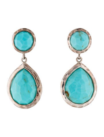 Ippolita Turquoise Rock Candy Drop Earrings None
