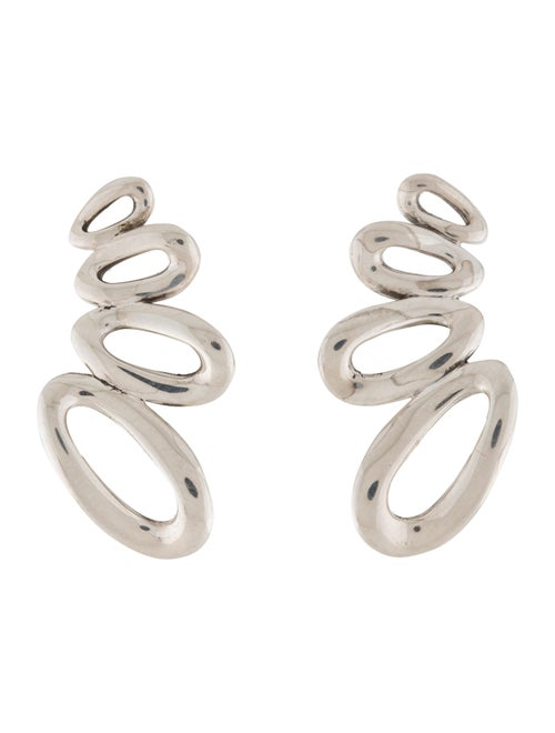 Ippolita Cherish Link Ear Climbers Silver