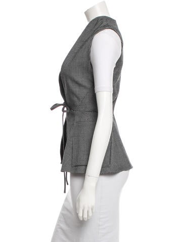 Wool Houndstooth Vest w/ Tags