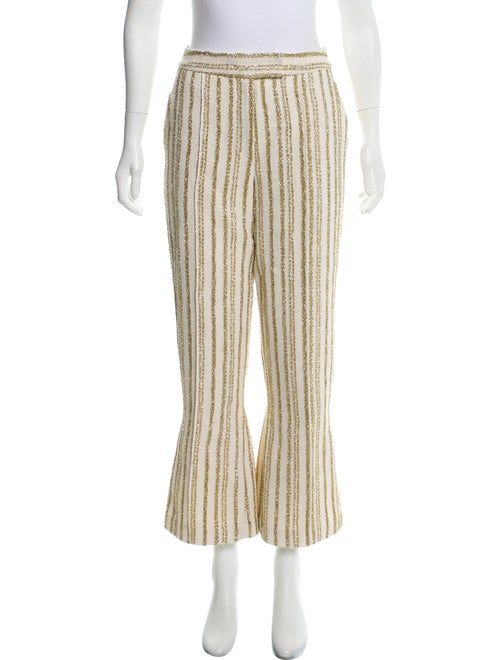Rosie Assoulin Striped Wide Leg Pants