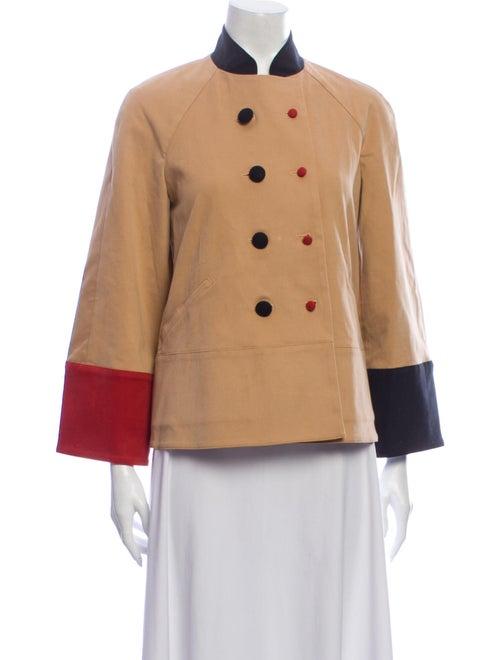 Rosie Assoulin Colorblock Pattern Jacket