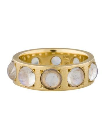 Moonstone Cabochon Ring