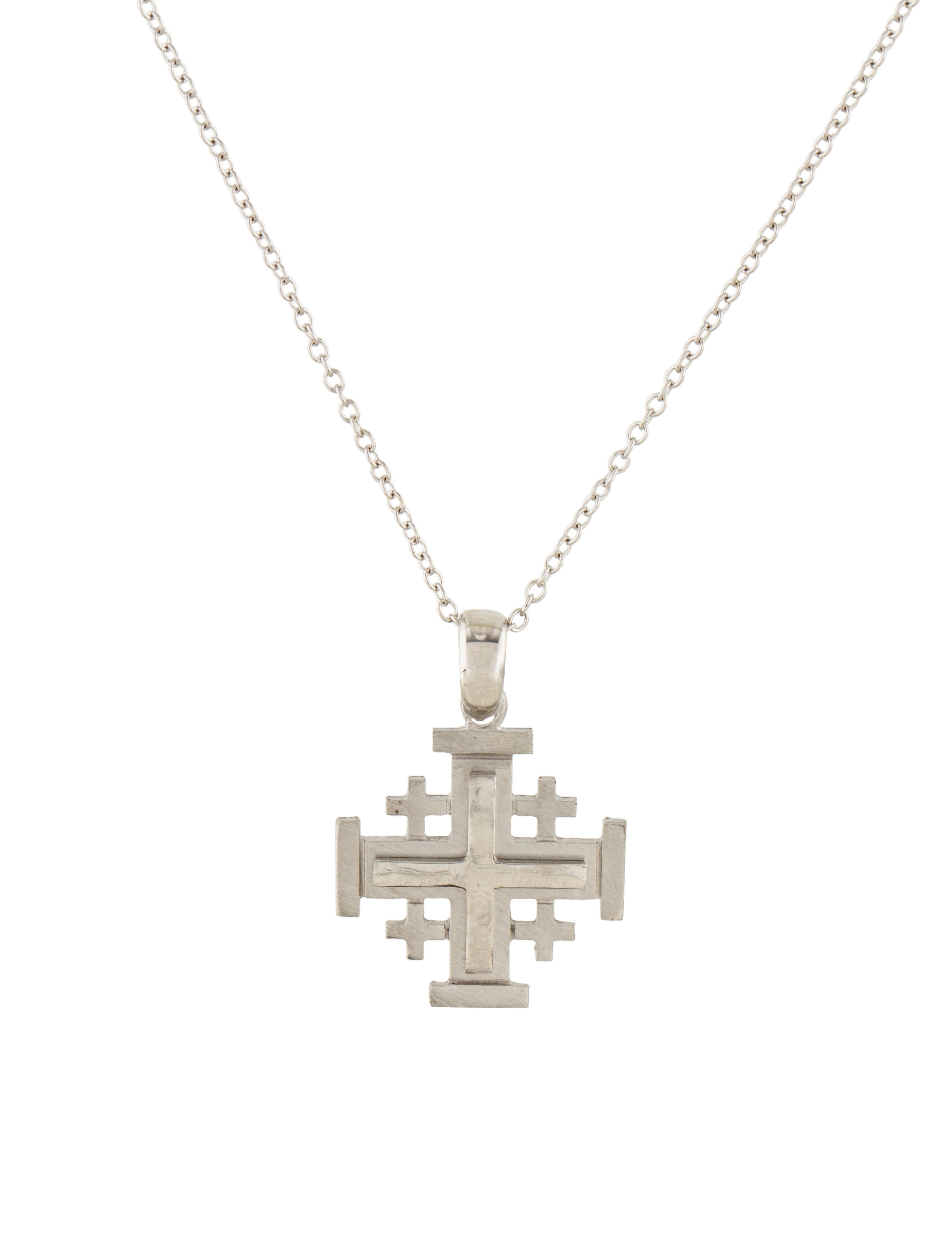heavy jewelry christianity products l with handmade chain sterling pendant jerusalem il middle a fullxfull shipping silver it two eastern fast tone cross