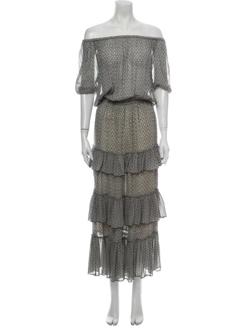 Isabel Marant Silk Long Dress