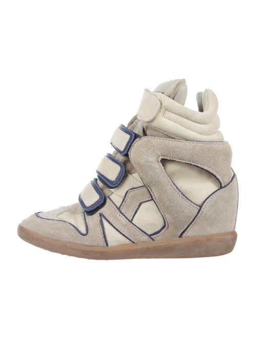 Isabel Marant Suede Leather Trim Embellishment Wed