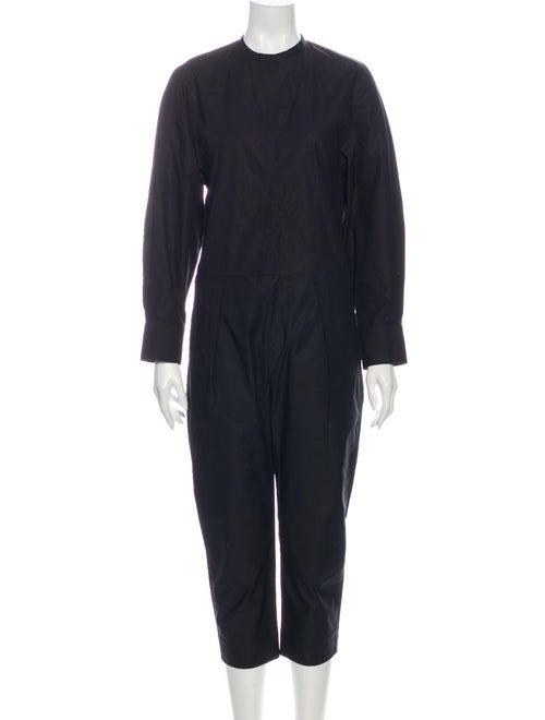Isabel Marant Crew Neck Jumpsuit Black