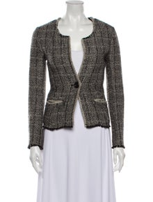 Isabel Marant Wool Tweed Pattern Blazer w/ Tags