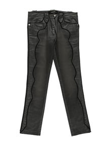 Isabel Marant Low-Rise Straight Leg Jeans