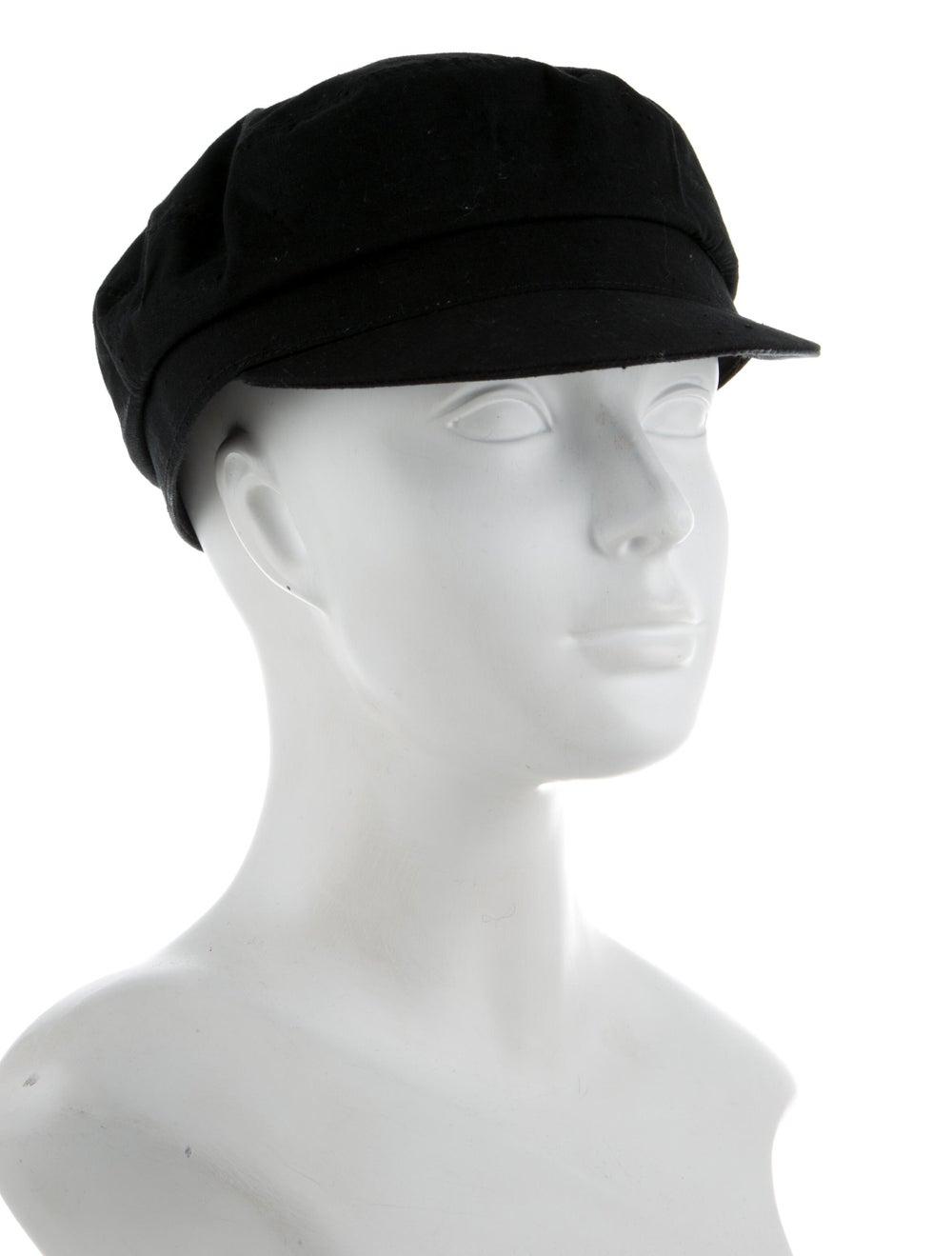 Isabel Marant Newsboy Hat Black - image 3