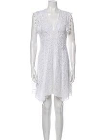 Isabel Marant Patterned Knee-Length Dress