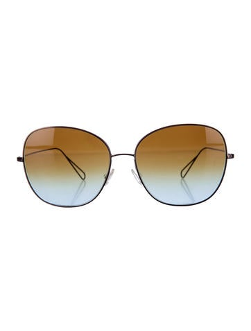 Ombré Oversize Sunglasses