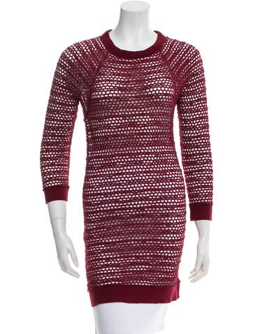 Isabel Marant Open Knit Tunic None