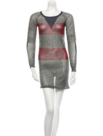 Isabel Marant Metallic Dress None
