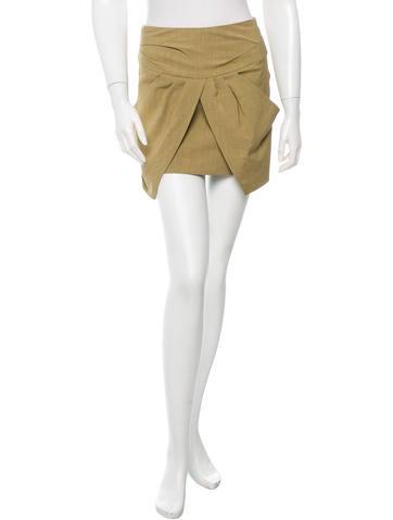 Isabel Marant Layered Mini Skirt