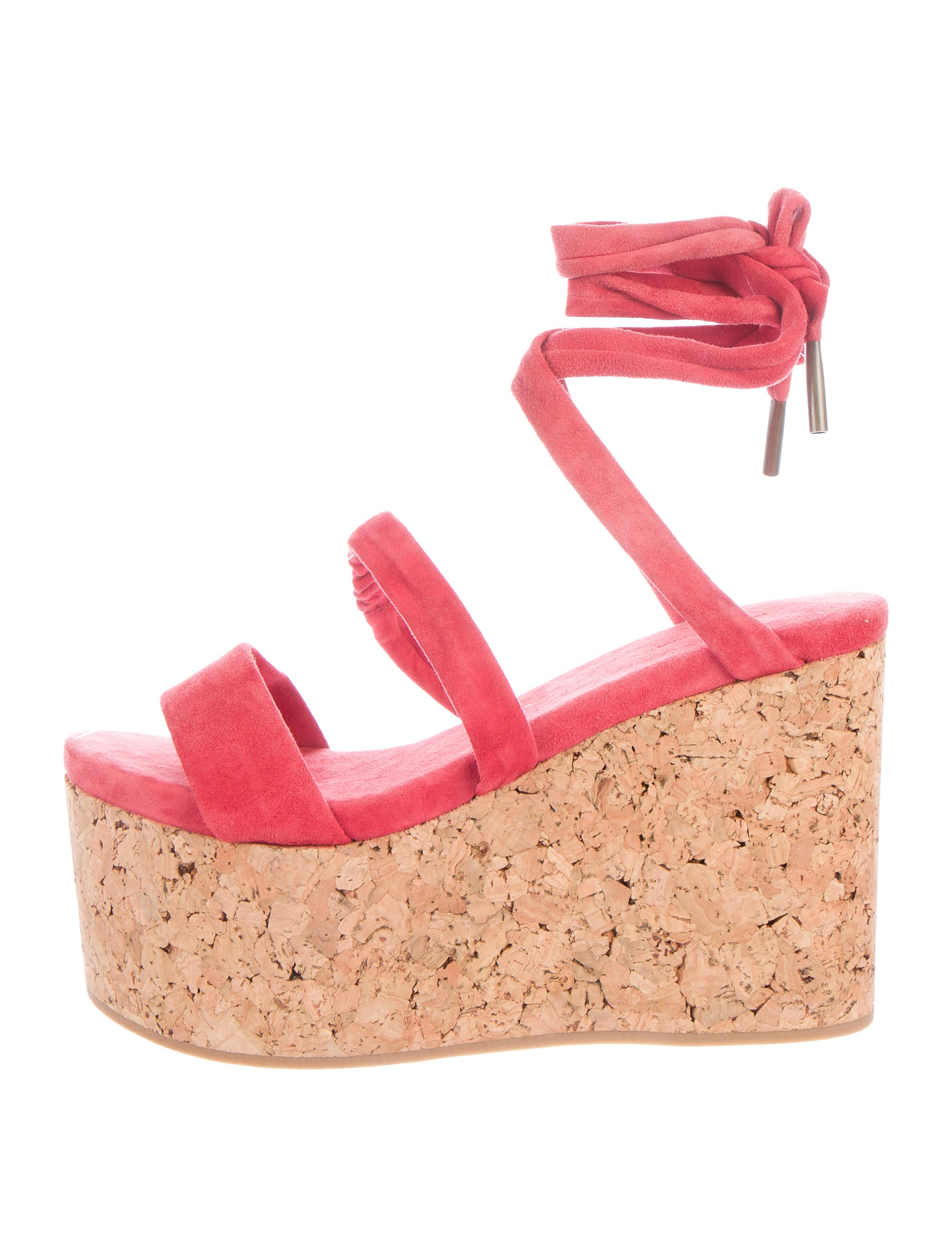 d44597c9055 Isabel Marant Suzy Platform Wedges - Shoes - ISA34088