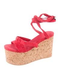 8eef6d1135e Isabel Marant Suzy Platform Wedges - Shoes - ISA34093
