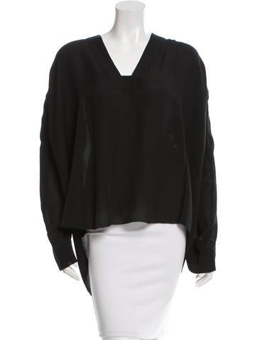 Isabel Marant Oversize Long Sleeve Top None