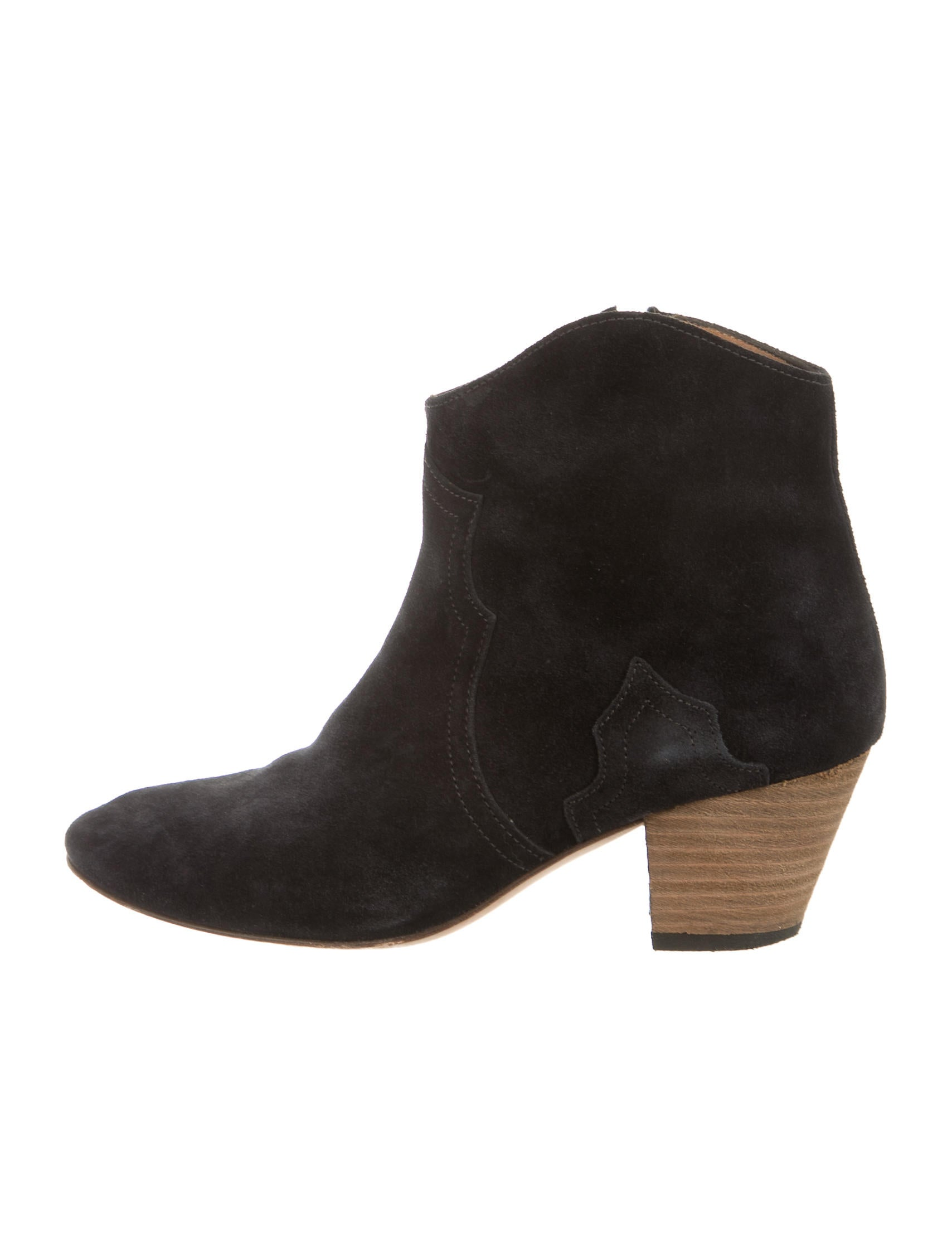 marant dicker suede ankle boots shoes isa34829