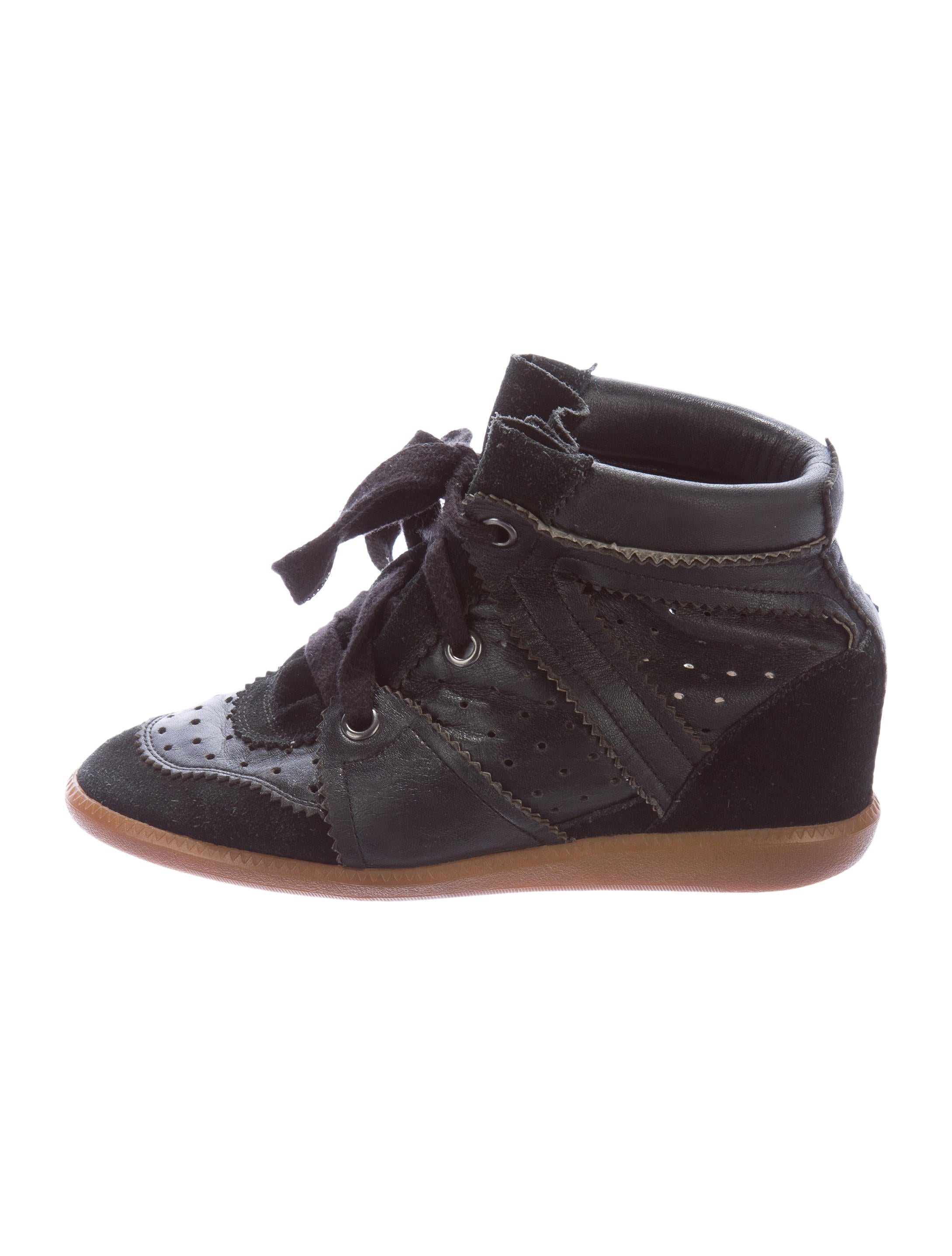 isabel marant bobby wedge sneakers shoes isa35186. Black Bedroom Furniture Sets. Home Design Ideas