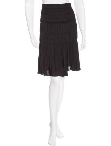 Isabel Marant Ruched A-Line Skirt