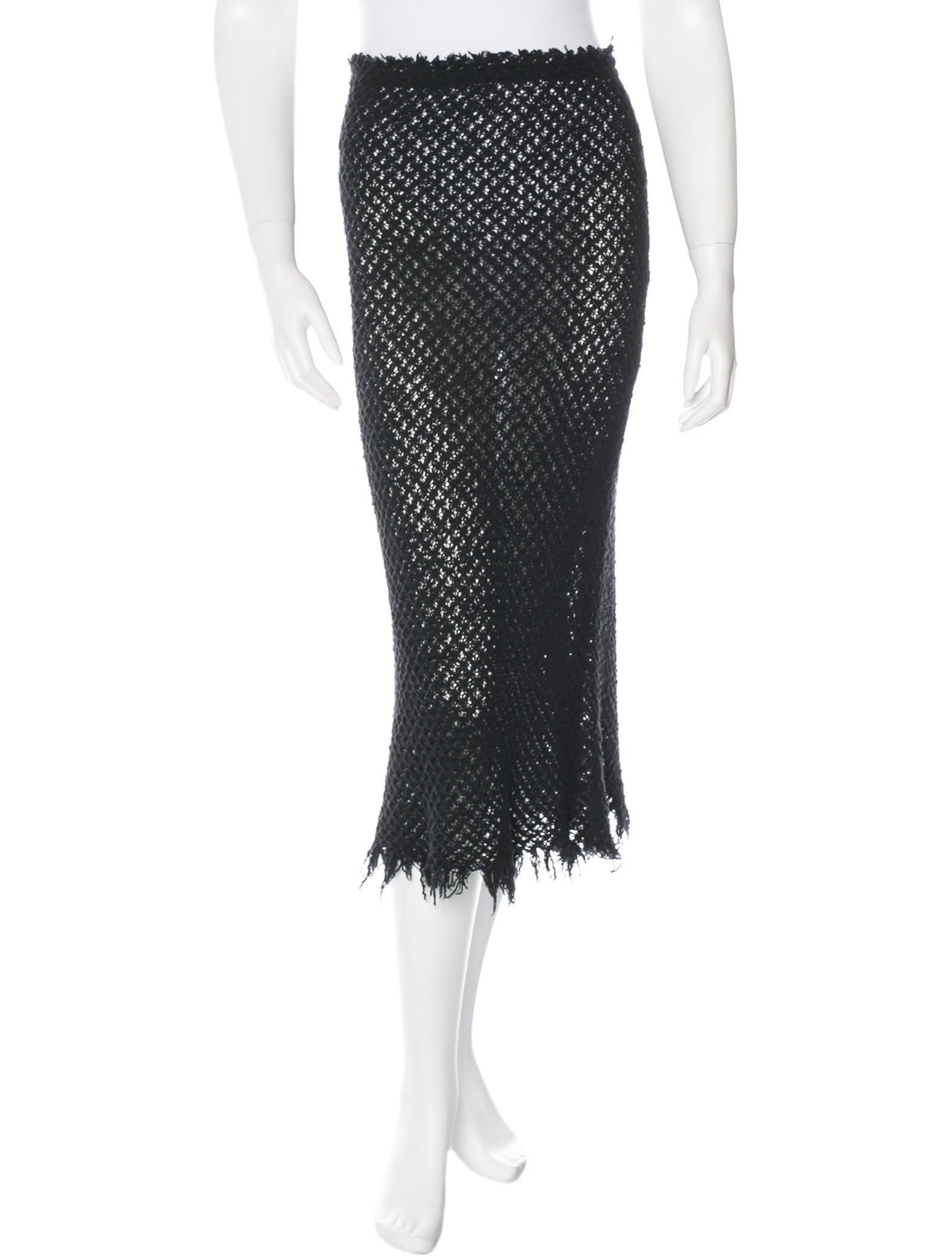 marant knit midi skirt clothing isa35263 the