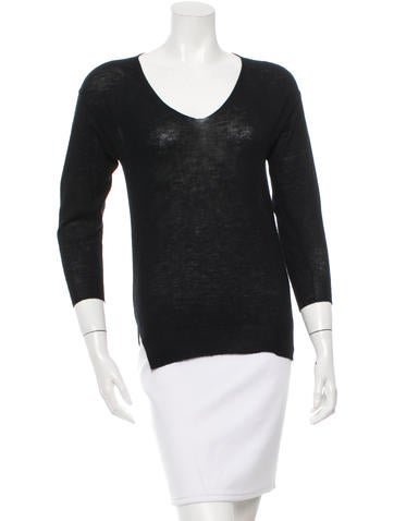 Isabel Marant Cashmere V-Neck Top None