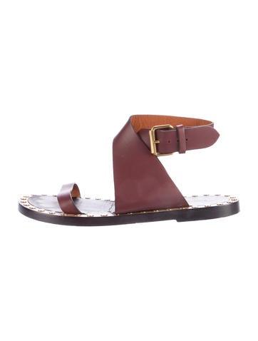 Isabel Marant Circus Maximus Ankle Strap Sandals