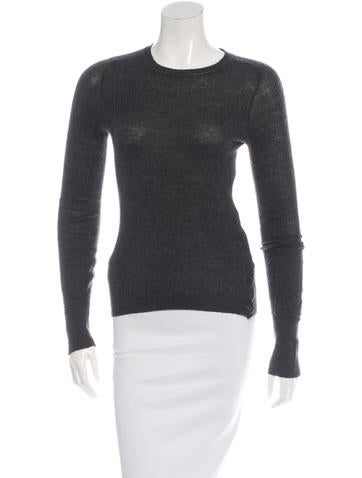 Isabel Marant Long Sleeve Knit Sweater None