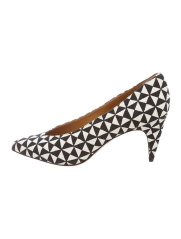 Isabel Marant Woven Pointed-Toe Pumps w/ Tags