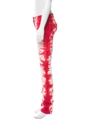 Tie-Dye Skinny Jeans w/ Tags