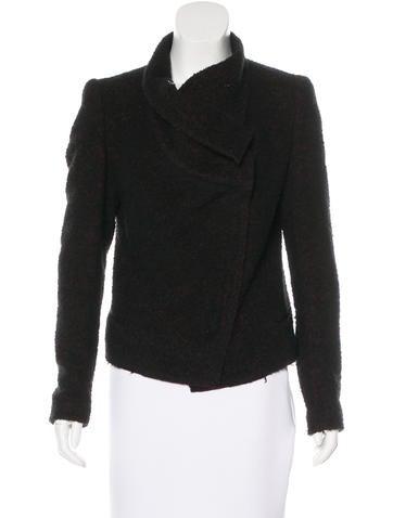 Isabel Marant Bouclé Asymmetric Jacket