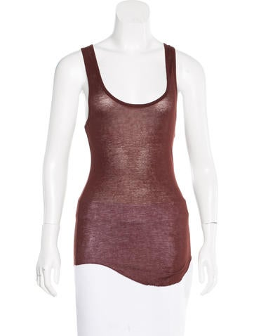 Isabel Marant Rib Knit Sleeveless Top None