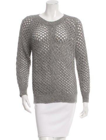 Isabel Marant Open Knit Alpaca Sweater None