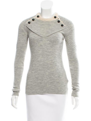 Isabel Marant Mélange Wool Sweater None