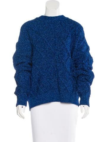 Isabel Marant Oversize Metallic Sweater w/ Tags None