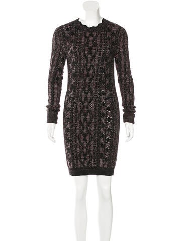 Isabel Marant Wool Cable Knit Dress w/ Tags None