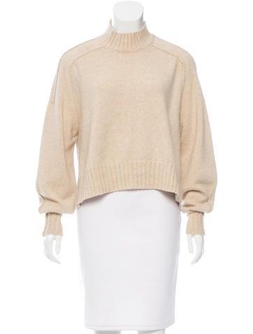 Isabel Marant Wool-Blend Rib Knit Sweater w/ Tags None