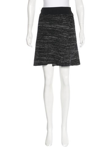 Isabel Marant Crepe Knit Skirt None