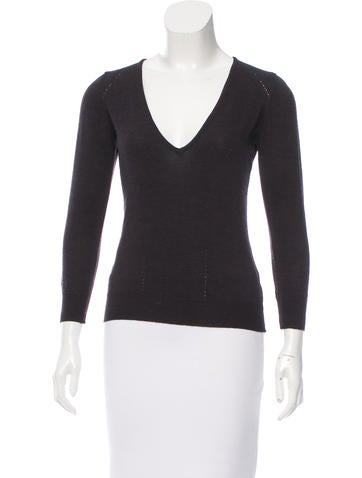 Isabel Marant V-Neck Wool Sweater None