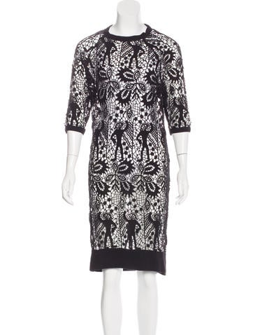 Isabel Marant Crochet Midi Dress None