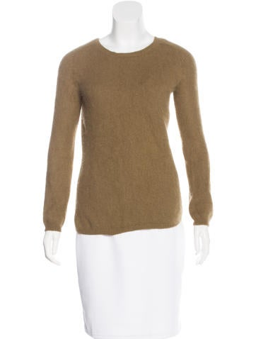 Isabel Marant Angora Crew Neck Sweater None