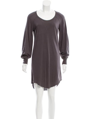 Isabel Marant Silk Long Sleeve Shirtdress None