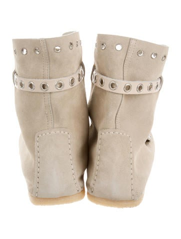 Studded Moccasin Booties